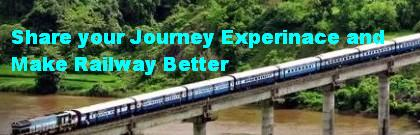 Share your Train Journey Experience to make railway services better