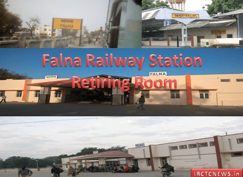 Retiring Rooms at Falna Railway Station Details