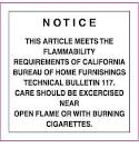 flame retardants in upholstered furniture