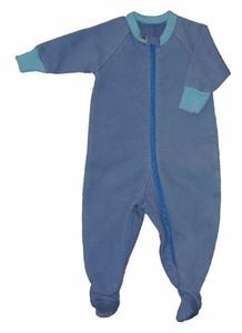 natural fleece baby pajamas