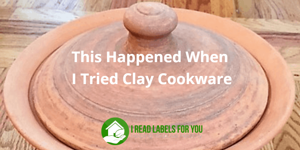 Clay cookware. A photo of an unglazed clay cooking pot.