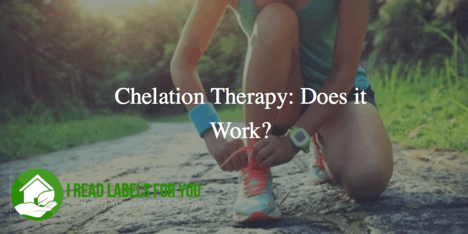 Chelation Therapy Heavy Metals