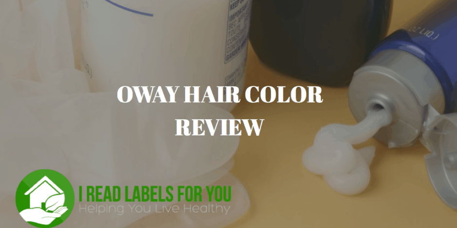 Oway Hair Color Review I Read Labels For You