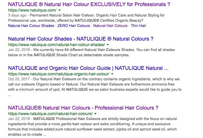 Natulique hair color ingredients review