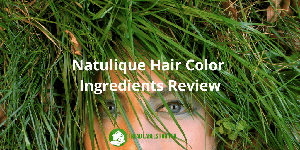 Natulique Hair Color Ingredients Review. Figurative picture of Natulique hair dye colorants.