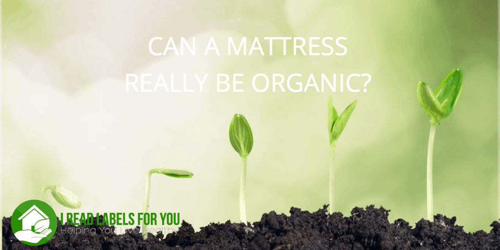 Can a mattress really be organic?