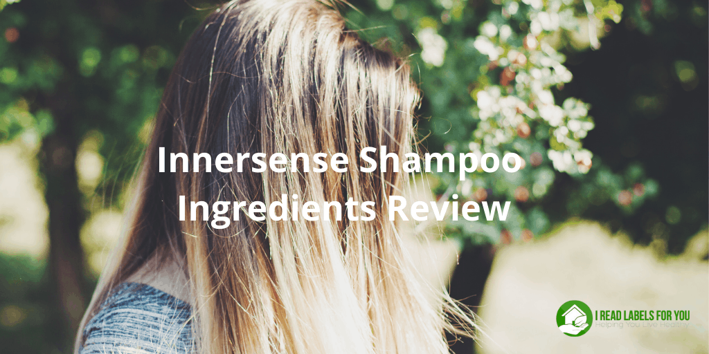 Innersense shampoo Ingredients Review. Photo of a woman with long hair washed with Innersense Pure Harmony Hairbath shampoo.