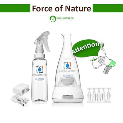Force of Nature Disinfectant