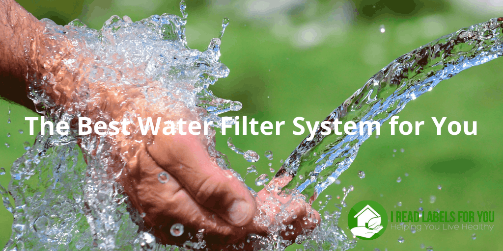 The Best Water Filter System for You. A picture of potentially best water filtration.