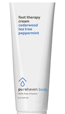 Pure Haven foot therapy cream