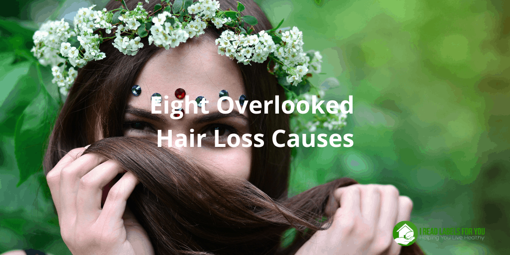 Eight Overlooked Hair Loss Causes. A photo of a woman without a female hair thinning problem