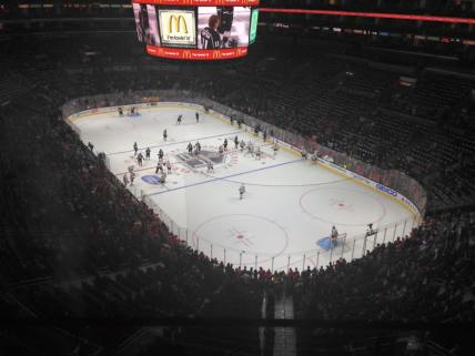 Blackhawks at Kings, November 28