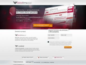 Landingpage Dobra Firma