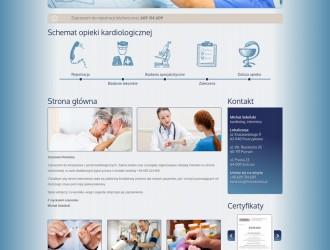 Strona internetowa Gabinet Kardiologiczny