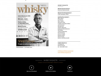 Strona internetowa Whisky