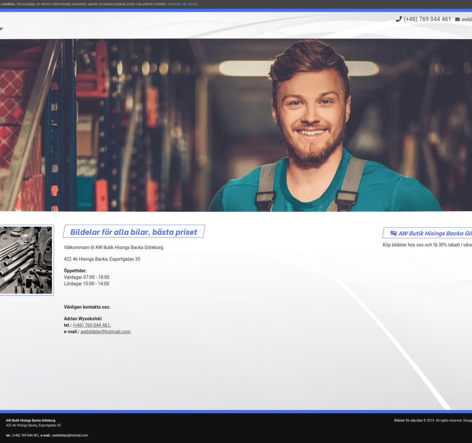Strona internetowa awbildelar