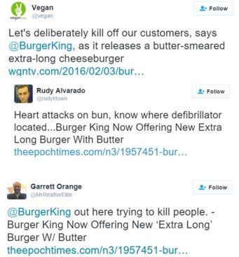 Burger King tweets