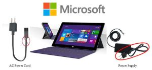 Microsoft Surface Pro AC Power Cord Recall
