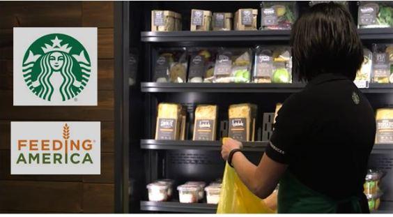 Starbucks Feeding America