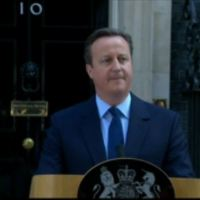 British PM David Cameron on Brexit