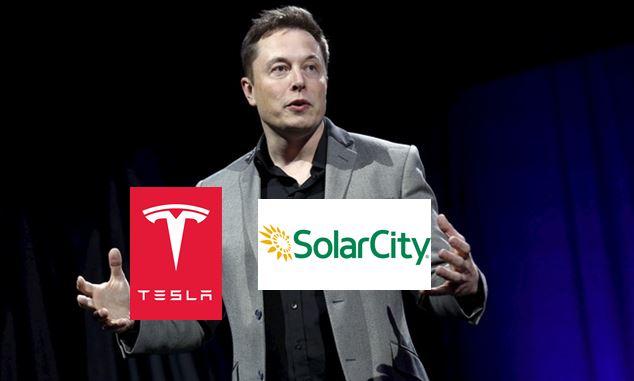 Tesla, SolarCity Chairman Elon Musk