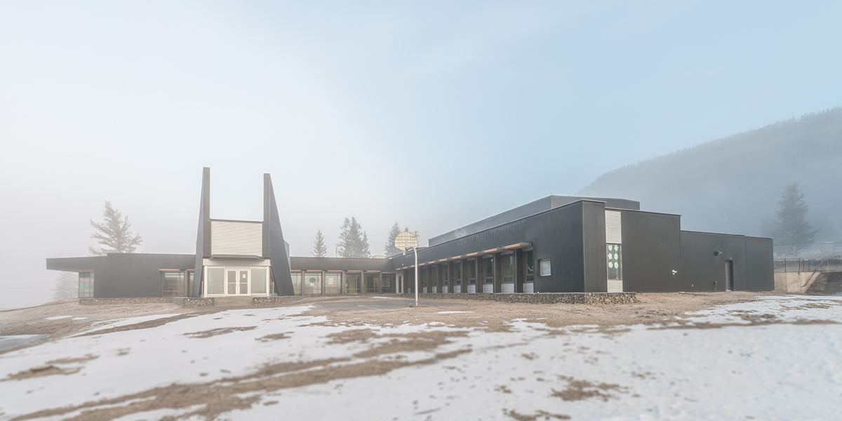 Iredale Architecture Tl Etinqox School And Community Hall