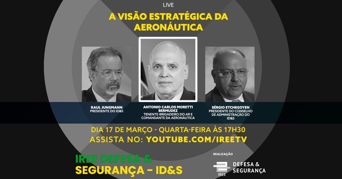 Live com o comandante Bermudez: A visão estratégica da Aeronáutica
