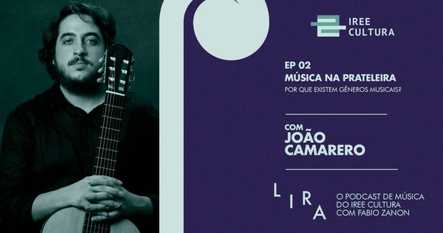 Podcast Lira com João Camarero