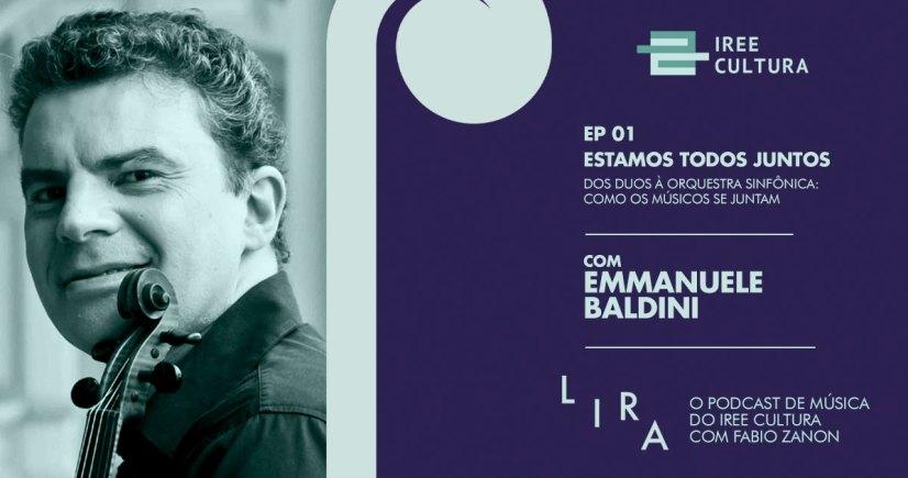 Primeiro episodio Lira Emmanuele Baldini