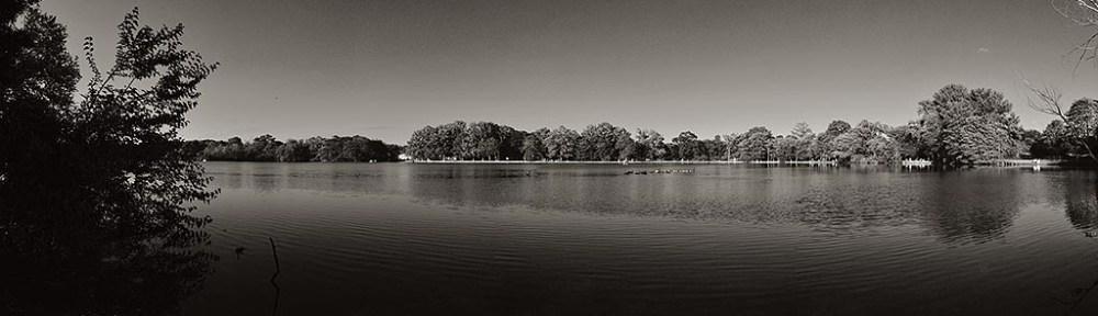Belmont Lake State Park Panorama.