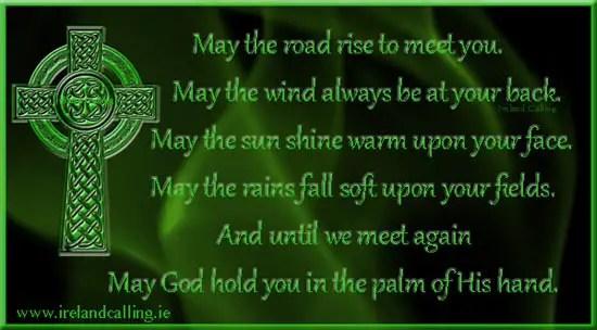 Top Irish Blessings Ireland Calling