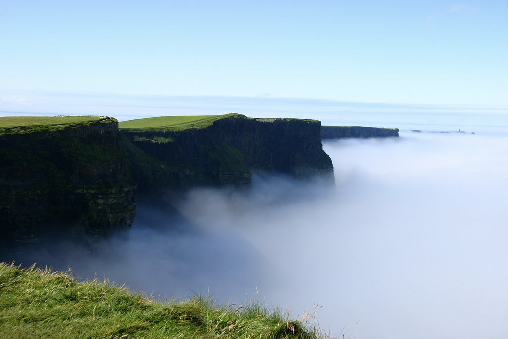 Foggy Cliffs of Moher
