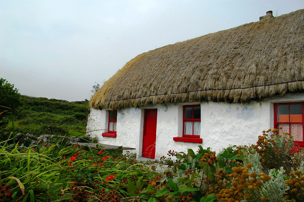 Thatched Cottage on Inis Mor
