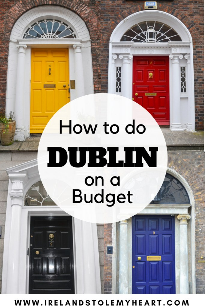 How to do Dublin on a budget! Dublin is expensive, but you can still explore Dublin, Ireland for cheap! From Dublin restaurants to free things to do in Dublin and where to stay in Dublin, here's how you can make this most of your Dublin getaway. #Dublin #TempleBar #DublinIreland #Dublinpubs #Dublinforfree