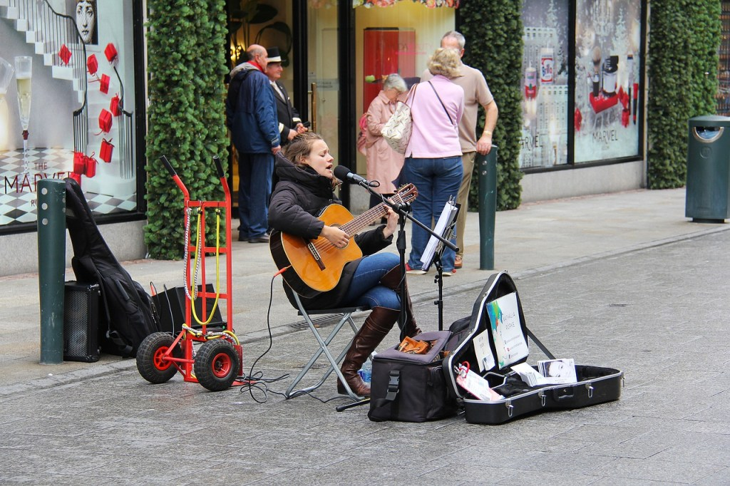 Grafton Street Performer