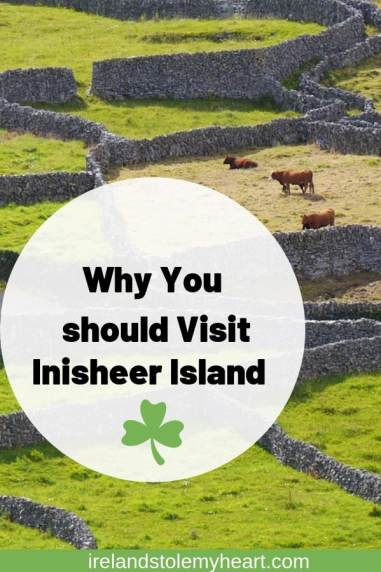 Get off the beaten track in Ireland with a visit to Inisheer island. The smallest of the Aran Islands. #Ireland #Inisheer #AranIslands