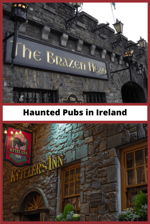 Haunted Pubs in Ireland pin