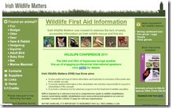Irish Wildlife Matters: wildlife rescue and first aid in Ireland