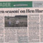 Open season on Hen Harrier in the Limerick leader