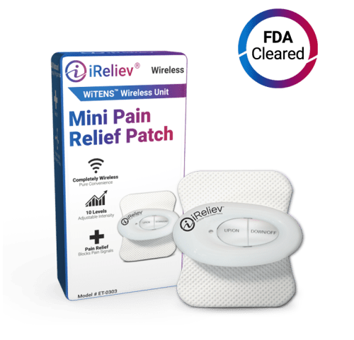 Mini Wireless TENS Unit by iReliev
