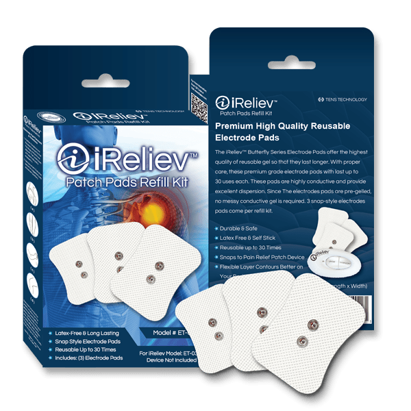 ET-0404 Patch Pads Refill Kit, Electrode Pads for Mini Wireless WiTENS
