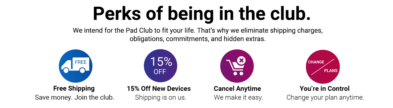 Dollar Electrode Club Get 15% off New Devices