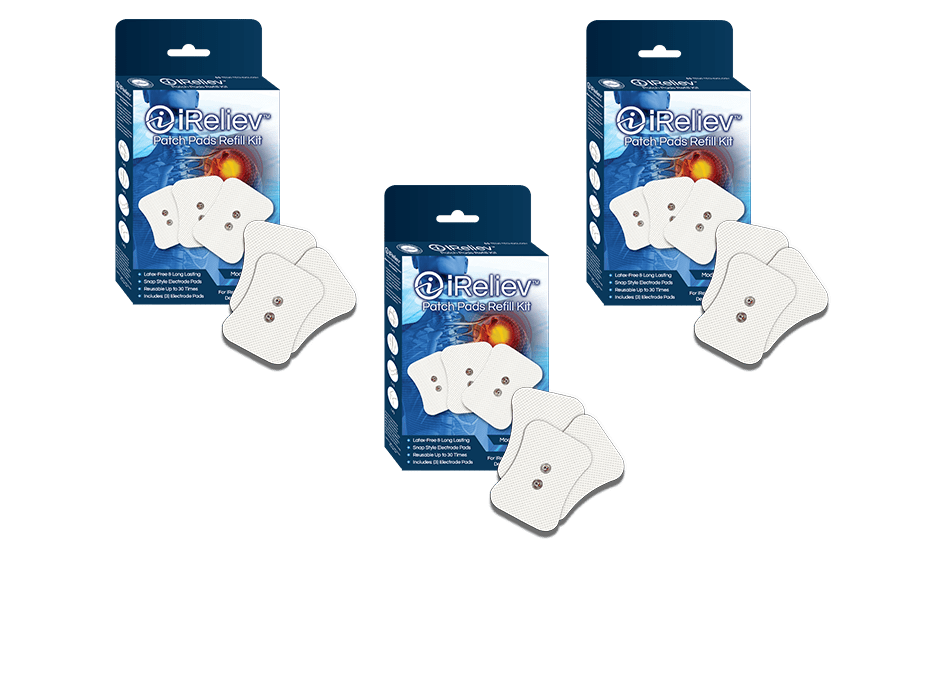 Mini Wireless Electrode Pads for TENS Units