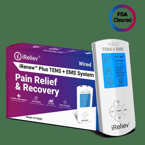 iReliev iRenew Plus TENS EMS