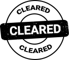 CLEARED icon