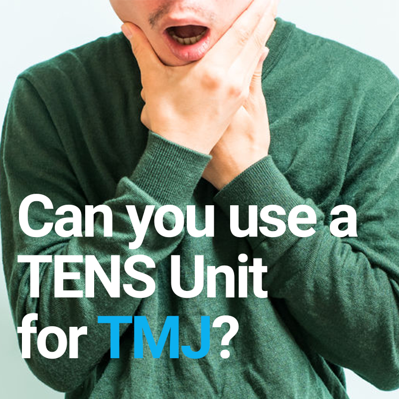 Can you use a TENS unit for TMJ