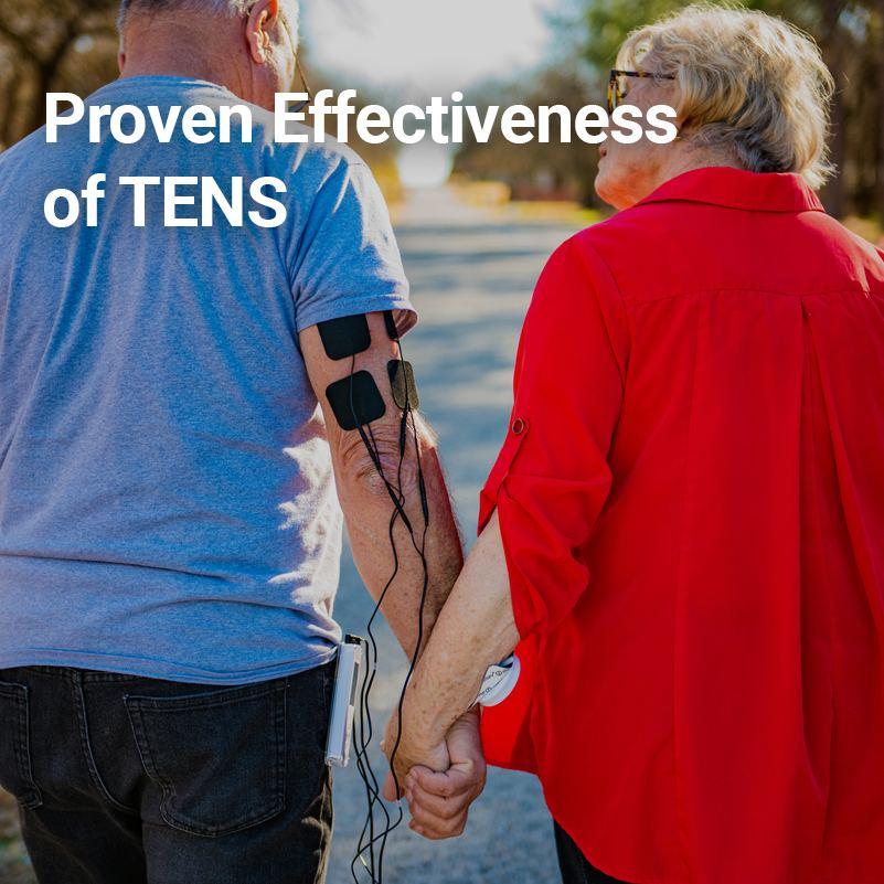 Proven effectiveness of TENS (riot)