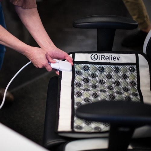 iReliev Far infrared heating pad, Far infrared heating pad, heating pad, Wired, Wired heating pad, Natural heat
