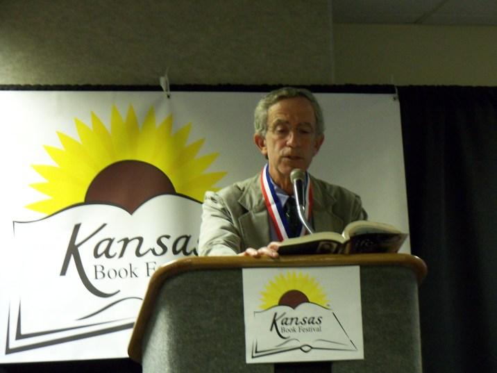 Jack Mayer speaks at the Kansas Book Festival in Topeka, KS on September 24, 2011.