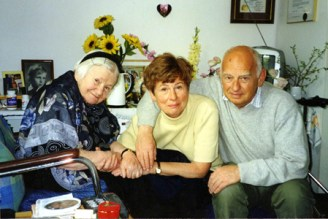 Pitor Zettinger was saved from the Warsaw Ghetto by Irena, he now lives in Sweden.